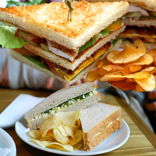 पनीर चिप्स सैंडविच-Paneer Chips Sandwich