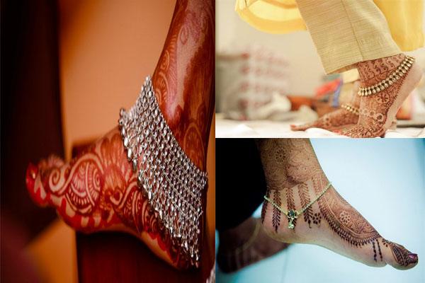 इस बार ब्राइडल अपनी शादी के दिन वियर करें ये पायल के Trendy डिजाइन्स....