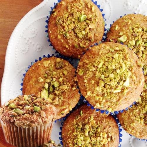 यम्मी टेस्ट में पिस्ता मफिन्स-Pistachio Muffin