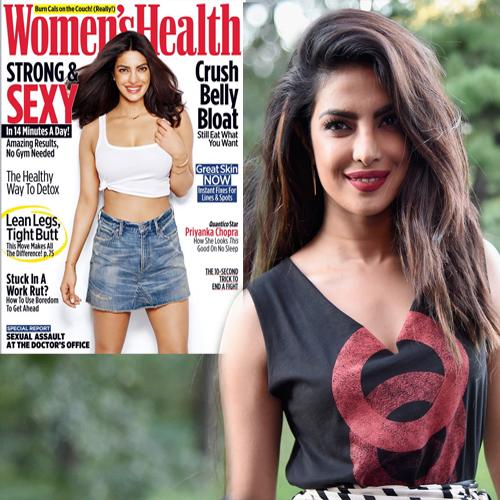 Priyanka Chopra at women Health November 2016 issue,Other ...