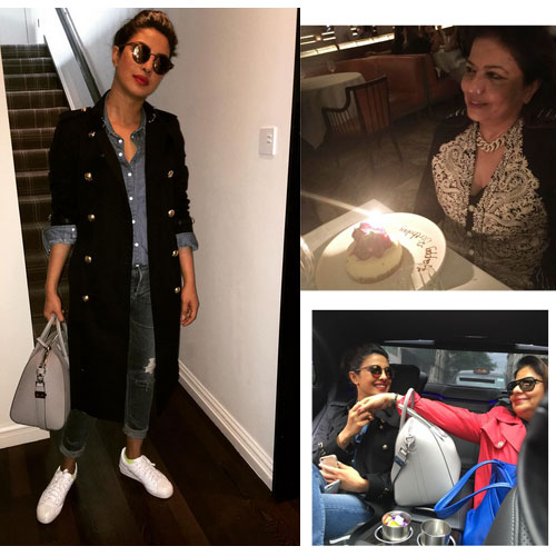 प्रियंका ने मां का जन्मदिन Celebrated किया अनोखे अंदाज में...