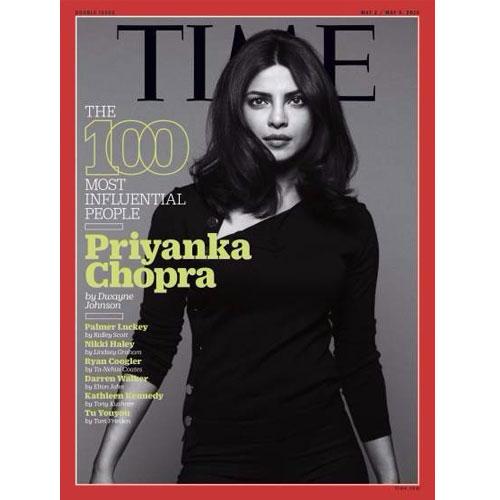 TIME magazine पेज पर प्रियंका Sizzling अवतार में