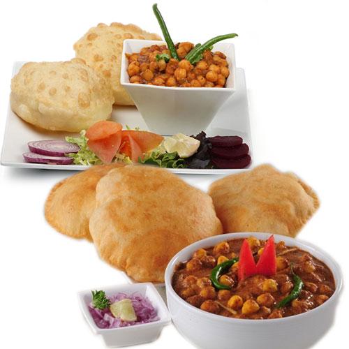 पंजाबी छोले भटूरे का तीखा स्वाद-Punjabi Chole Bhature