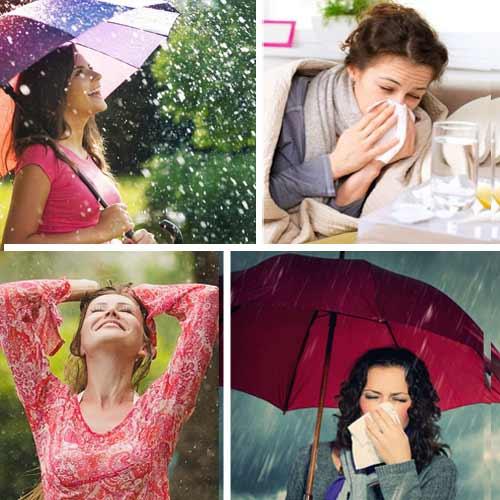 बरसात के सीजन में रोगों से यूं करें बचाव