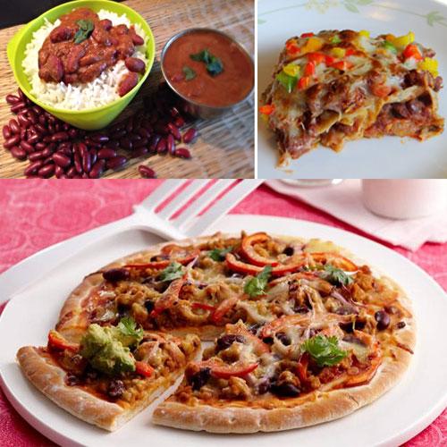 शाम को बनाएं मजेदार राजमा पिज्जा-Rajma Pizza