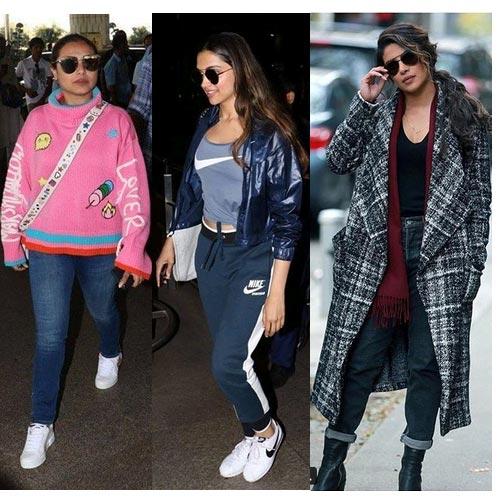 रानी, प्रियंका और दीपिका का हॉट Fashion trends
