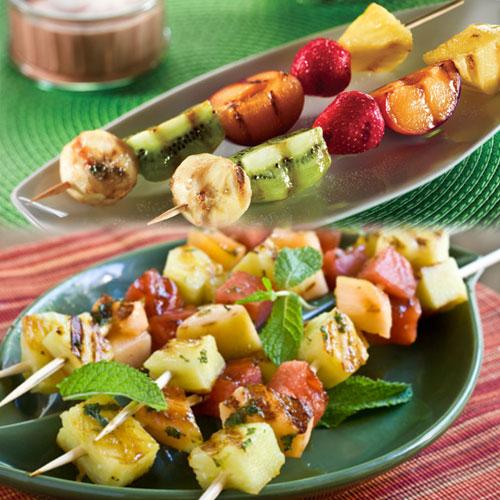 अनोखी ग्रिल्ड फ्रुट रेसिपी-Grilled Fruit Recipe