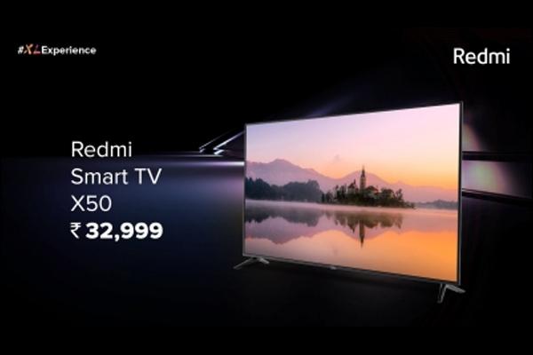 रेडमी ने 32,999 रुपये में एक्स सीरीज स्मार्ट टीवी लॉन्च किया