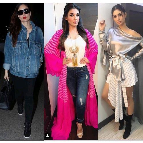 देखते रह जाएंगे:करीना, रवीना और मॉनी की अदाओं में खूबसूरत शोखियां