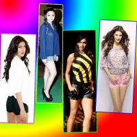 Bollywood actresses has charmed the short pants