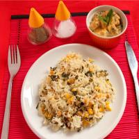 Corn Methi Brown Rice Pulao