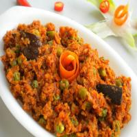 The special flavor vegetable Keema
