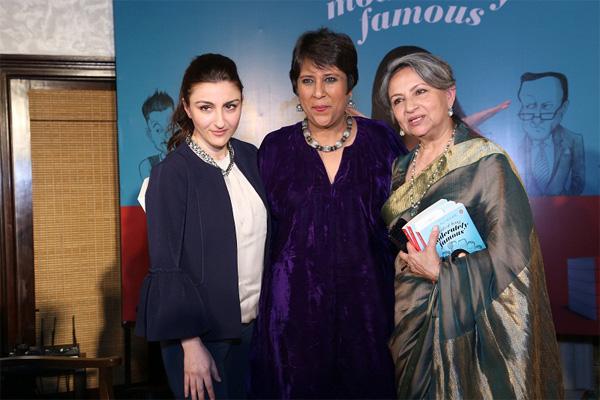 सोहा का दिखा वेस्टर्न लुक,तो मम्मी शर्मिला साड़ी में आई खूबसूरत नजर