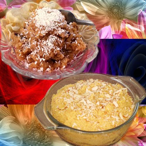 हैल्दी व टेस्टी सूजी नारियल का हलवा-Sooji and Coconut Halwa