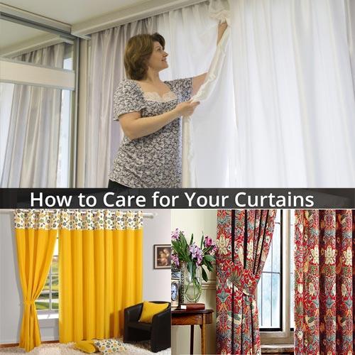 घर के परदों के लिए खास देखभाल