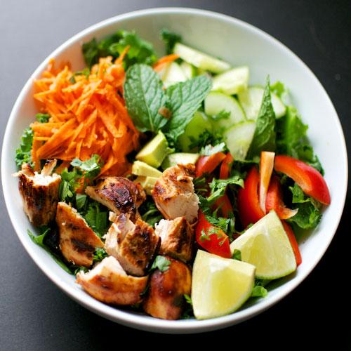Spicy चिकन Salad