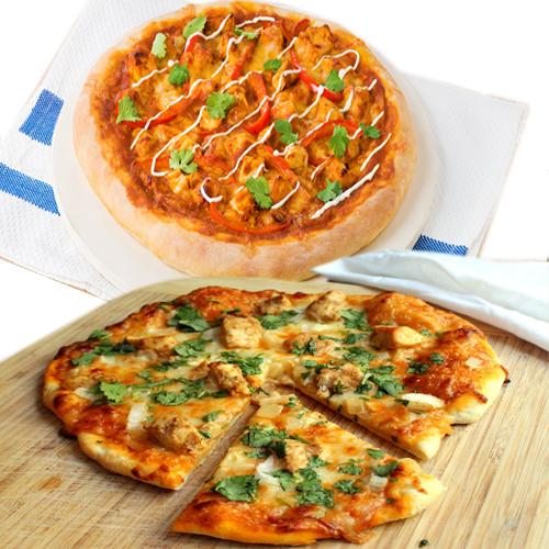 क्या चखा आपने! जायकेदार मसाला पिज्जा