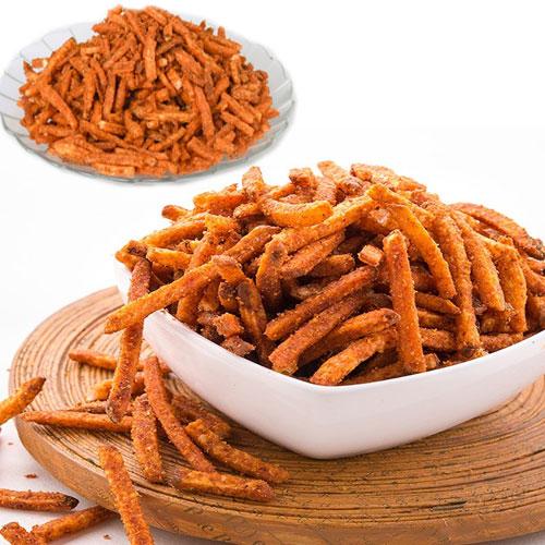 मजेदार व मसाला आलू लच्छा रेसिपी-Spicy potato coil