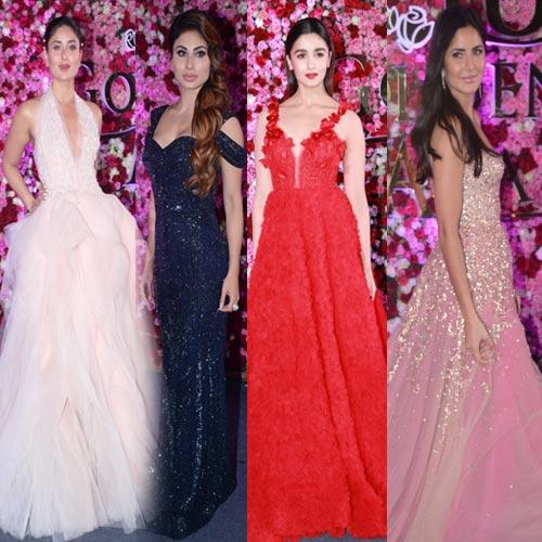 Lux गोल्डन रोज Awards 2017 में दिखे श्रीदेवी, करीना और दीपका के...जलवे