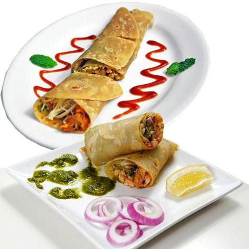 सब्जी परांठा रोल रेसिपी Veg Paratha Roll Recipe