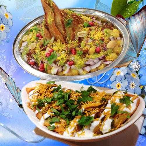 जयाकेदार तवा चाट-Tawa chaat recipe