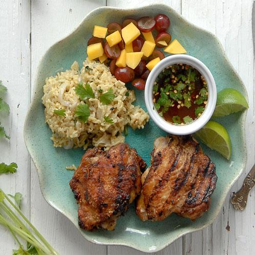 थाई ग्रिल्ड चिकन-Thai grilled chicken