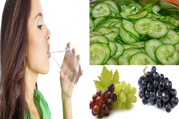 आपके शरीर में ये आहार पानी की कमी नहीं होने देंगे कम.....