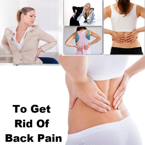 पीठ दर्द से पाएं छुटकारा