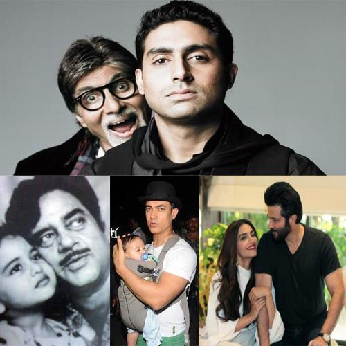 Happy फादर्स Day:बॉलीवुड अभिनेत्रियों के हैं सुपर हीरो