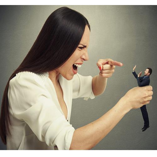 पत्नी के गुस्से के पर ऐसे करें काबू