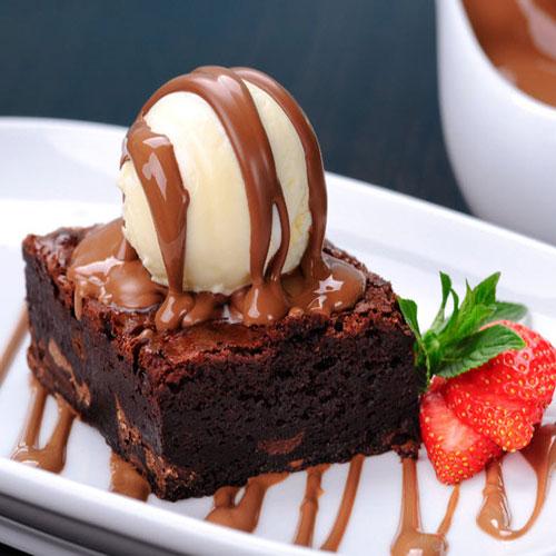 यम्मी-यम्मी चौकलेट ब्राउनी-Chocolate Brownie