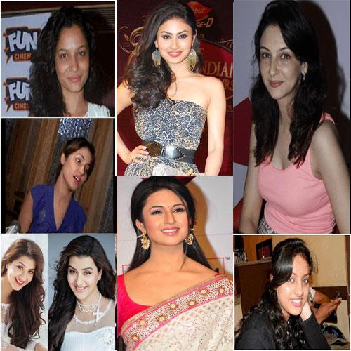 Top 10 Telly Actresses Without Makeup | Saubhaya Makeup